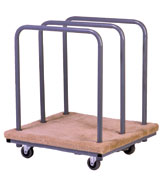 Steel Panel Cart with 3-Removable Bars