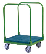 Steel Panel Cart with 2-Removable Bars
