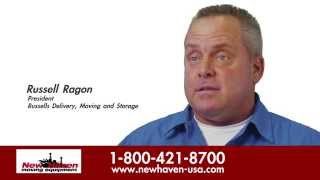 Russell Ragon, President, Russells Delivery - New Haven Testimonials