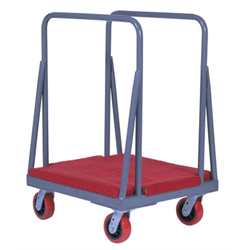 "MASONITE CART w/6"" CASTERS"