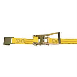 "RATCHET STRAP M10 2""x30' w/ FLAT HOOK"