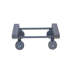 "PIANO DOLLY STEEL w/ 5"" FIXED WHEELS"