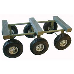 "ALL TERRAIN DOLLY w/6 10"" PNEUMATIC WHEELS"