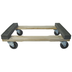 "SLIP-PRUF® DOLLY 18x30 w/4"" CASTERS"