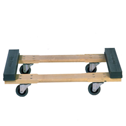 "SLIP-PRUF® CHICAGO DOLLY 18x32 w/3.5"" CASTERS"