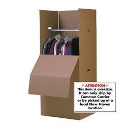 "WARDROBE CARTON 24""  w/o BAR"