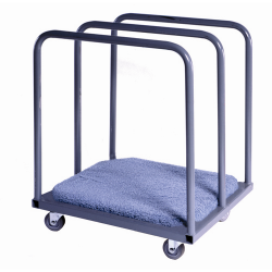Panel Carts w/3 Stationary Bars